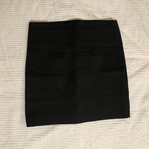 BB Dakota Black Bandage Skirt